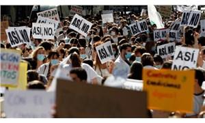 İspanya'da sağlık çalışanlarından protesto: Süresiz grev kararı alma aşamasındayız