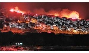 İzmir'de makilik alanda çıkan yangın kontrol altına alındı