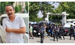 Polis HDP'nin eylemine müdahale etti, Veli Saçılık gözaltına alındı