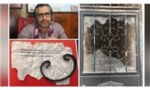 Avukat Şiar Rişvanoğlu'nun bürosuna saldırı: Saldırganlar tehdit notu bıraktı
