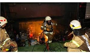 İstanbul'da aynı anda çok sayıda işyerinde yangın