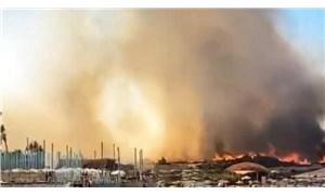 Alaçatı'daki yangın kontrol altına alındı