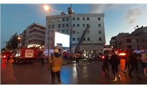 İstanbul'da özel bir hastanedeki yangın kontrol altına alındı