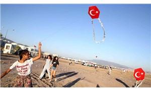 İzmir'de TOKİ'nin sattığı alanda uçurtma şenliği
