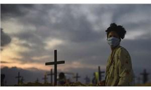 Covid-19'dan son 24 saatte Brezilya'da 632, Hindistan'da 587, Meksika'da 301 kişi öldü