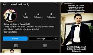 Pınar'ın katili Cemal Metin Avcı'yı savunmak için açılan sosyal medya hesabına suç duyurusu