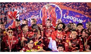 30 yıl sonra Premier Lig şampiyonu olan Liverpool kupasına kavuştu