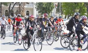 Bisikletlilerden 'umut' eylemi: Herkes güvenle bisiklete binebilmeli