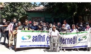 Çapaklı'da jandarma saldırısı protesto edildi: Salihli halkı yalnız değildir