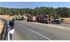 Mersin'de askerleri taşıyan otobüs devrildi: 4 asker yaşamını yitirdi, 10 asker yaralı