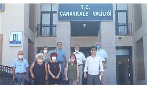 Ekoloji örgütleri Çanakkale Valisi ile görüştü: Hukuksuz gözaltılara soruşturma istiyoruz