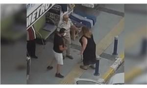 İzmir'de bir erkek, aracını dükkânının önüne park etmek isteyen kadına saldırdı