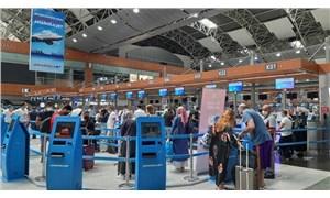 İstanbul'daki havalimanlarında bayram yoğunluğu