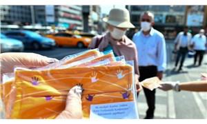 Ankara Büyükşehir Belediyesi'nden kadına yönelik şiddete karşı 'turuncu maske' kampanyası