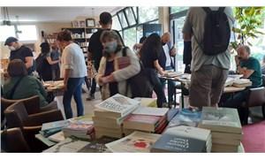 Kitapseverler Berlin'deki İkinci El Kitap Pazarı'nda buluştu