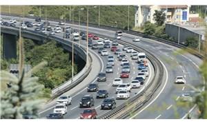 Trafikte tatil dönüşü yoğunluğu