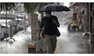 İki bölge için sağanak yağış uyarısı