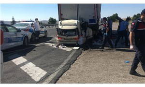 Konya-Ankarakara yolunda trafik kazası: 5 can kaybı
