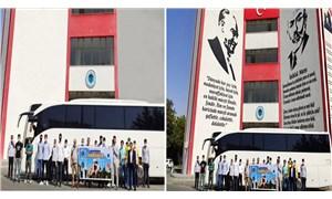 Erdoğan'ın kurucusu olduğu vakıf, Atatürk ve Mehmet Akif Ersoy'u photoshopla sildi