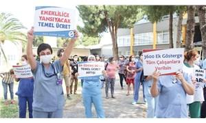 DEÜ sağlık çalışanları hakkını arıyor
