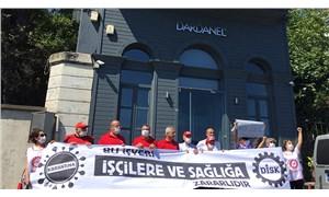 DİSK eylem yaptı, Dardanel'den 'toplama kampı' sistemiyle ilgili açıklama geldi