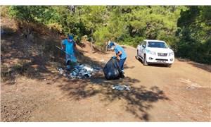 Marmaris Belediyesi bayram boyunca 1885 ton çöp topladı