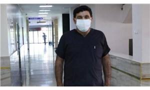 Covid-19'u yenerek görevine dönen sağlık çalışanı, hasta yakını tarafından darp edildi
