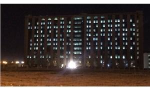 Diyarbakır'daki salgının durumunu, pandemi hastanesinin ışıkları ortaya koydu