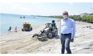 Avcılar'da halk plajı için çalışmalar başladı