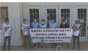 Birleşik Taşıma Sendikası Adana Şubesi: Sürgünler durdurulsun