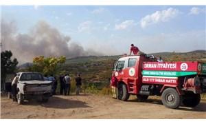 Bulgaristan'ın Türkiye sınırında orman yangını