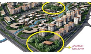 Yeşil alanların yerine otel ve akaryakıt istasyonu koydular