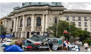 Bulgaristan'da çadırlar kuruldu, direnişe devam