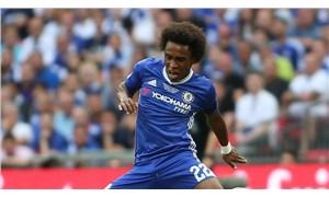 Willian, Chelsea'den ayrıldı
