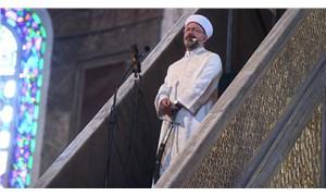 Ali Erbaş'tan 'kılıçlı hutbe' açıklaması: Fethe dair bir mesajdır