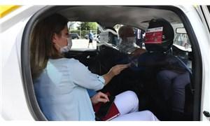 Ankara'da taksiler için yeni dönem: Şeffaf panel uygulaması