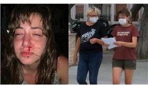 Ayvalık'taki bir eğlence mekanında anne ve kızına şiddet