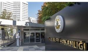 Dışişleri Bakanlığı'ndan sert Yunanistan açıklaması