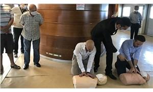 İstanbul'da vapur yolcularına ilk yardım eğitimi verildi
