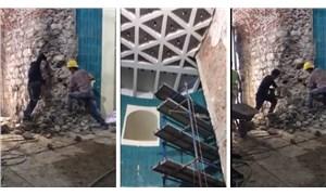"""Galata Kulesi'nde 'restorasyon' tahribatı: """"IŞİD'in yaptığından farksız"""""""