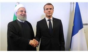 Macron: İran'a silah ambargosunun genişletilmesi için ABD ile tamamen farklı görüşteyiz