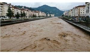 Trabzon'u sel vurdu: 1 can kaybı