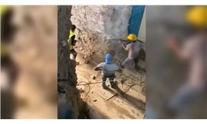 Galata Kulesi'ndeki tahribatın yeni görüntüleri ortaya çıktı