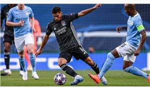 Şampiyonlar Ligi'nde büyük sürpriz: Lyon, City'i saf dışı bıraktı