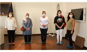 Merve Kotan'ın ailesinden Çerçioğlu'na ziyaret