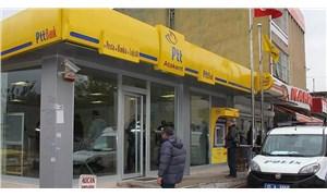 Eskişehir'in Günyüzü ilçesindeki PTT Covid-19 nedeniyle kapatıldı