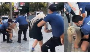 Kadıköy'de bir kadına şiddet uygulayan polisler görevinden uzaklaştırıldı