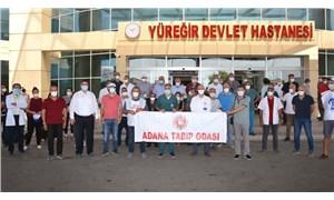 Adana Tabip Odası: Sağlık çalışanları nefes alamayacak hale geldi