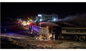 Ankara'da kargo deposunda çıkan yangın kontrol altına alındı