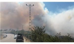 Adana Kozan'daki orman yangını büyüyor: 6 köy boşaltıldı